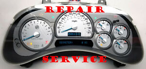 2003 To 2006 Buick Rainier Instrument Cluster Software Odometer Calibration