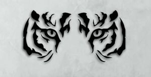 Tiger Eyes Vinyl Decal Sticker For Car Truck Motorcycle Bumper Wall Window Case