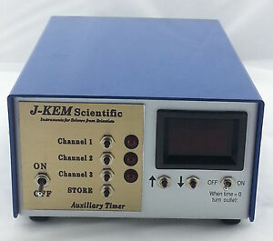 J Kem Scientific Multi channel Auxiliary Timer User Manual At 3