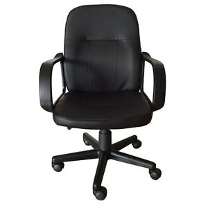 Modern Mid Back Executive Chair Ergonomic Desk Task Home Office Computer Chair