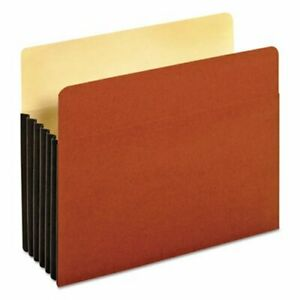 Pendaflex Expanding File Pocket Top Tab 5 1 4 Brown 10 Per Box pfx63274