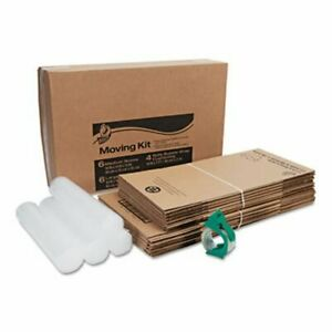Duck Moving Kit 10 Boxes small medium Bubble Wrap Packing Tape duc280640