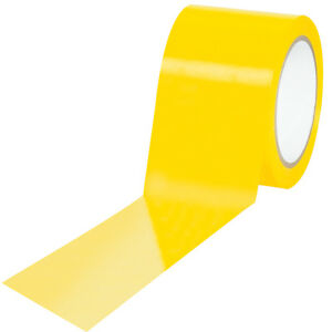 Tape Logic Solid Vinyl Safety Tape 6 0 Mil 3 X 36 Yds Yellow 16 case T9336y