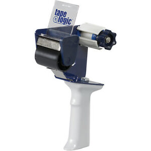 Tape Logic Long Roll 1 1 2 Core Carton Sealing Tape Dispenser 2 Blue white 1