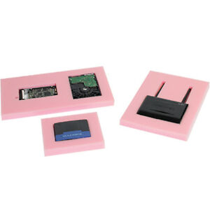 Box Partners Anti static Pick And Pack Foam 24 X 24 X 1 1 Squares Pink 12