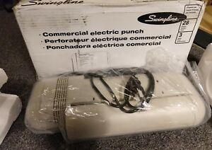 Swingline Commercial Electric 3 Hole Punch