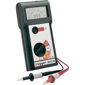 Megger Mit210 1000 V Insulation And Continuity Tester