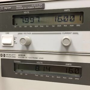 Hp Agilent Keysight 6641a Dc Power Supply 0 8v 0 20a 160w