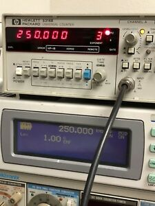 Hp Agilent 5316b Digital Universal Frequency Counter 7 digit 100mhz Tested