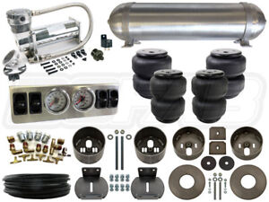 Complete Air Ride Suspension Kit 1965 1970 Cadillac Deville Level 1 1 4