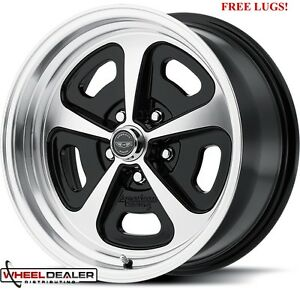 17x7 17x8 American Racing Vn501 Wheels Rims Ford Mustang 1965 1966 1967 1968