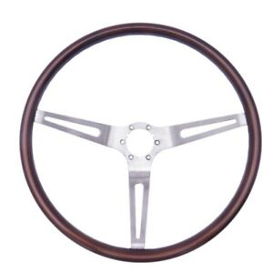 Gm Classic 16 Inch Woodgrain Steering Wheel 1963 1966 New
