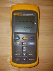 Fluke 54 Ii Dual input Digital Thermometer With Data Logging