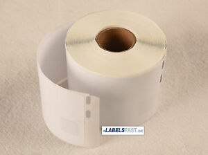 6 Rolls 30323 Dymo Labelwriter 4xl Duo Compatible Lg Address Labels 240 roll