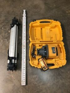 Trimble Spectra Precision Ll500 Rotary Laser Level W Apache Receiver And Tripod