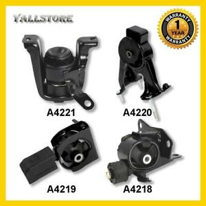 For 2003 2008 Toyota Corolla 1 8l Engine Motor Mount Set 4pcs For Auto Trans