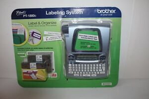 Brother P touch Pt 1880c Labeling System New Sealed Free Ship