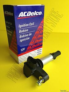 Set Of 6 New General Motors Acdelco Ignition Coil Premium Quality