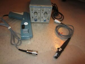 Tektronix Tm502 Am503 2 A6302 Current Probe A6303 Current Probe Tested