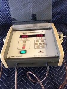 Chattanooga Intelect Model 200 Ultrasound Unit r
