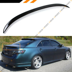 For 2007 2011 Toyota Camry Le Se Xle Glossy Black Sport Style Trunk Lid Spoiler