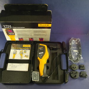 Brand New Fluke Vt04 Visual Ir Thermometer Original Box