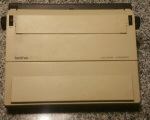 Brother Ax 10 Electronic Typewriter Tested