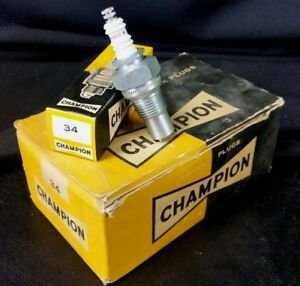 Nos Champion 34 Sparkplug Deep Seat 1 2 Pipe Thread Maytag Model 92 John Deere D