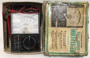 Radio Shack Micronta Range Doubler Multimeter 22 204a 43 Ranges Tandy Tested