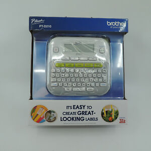 Brother P Touch Ptd210 Label Maker White New