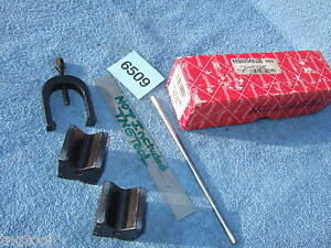 Starrett V blocks 271c 1 Clamp 4886 Usa Made Machinist Toolmaker Mill Hardened