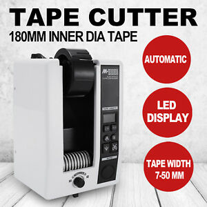 10 999mm Automatic Tape Dispensers Cutter Adhesive Cutting 18w 3 Digit Led