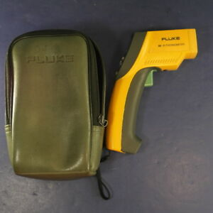 Fluke 66 Ir Infrared Thermometer Good Case