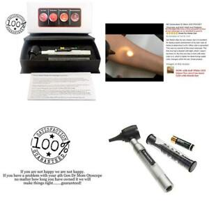 4th Generation Dr Mom Led Pocket Otoscope And Both Adult And Pediatric Disposabl