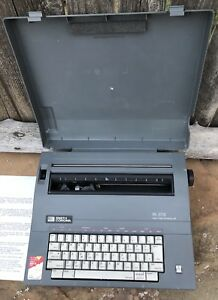 Smith Corona Sl 575 Spell Right Portable Electric Typewriter Works Nice tested