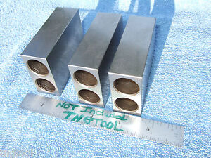 1 2 3 Blocks 3 Parallels Xlnt Toolmaker Machinist Inspection Grind Mill Qa