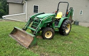 2005 John Deere 4720 Tractor W Loader And Backhoe