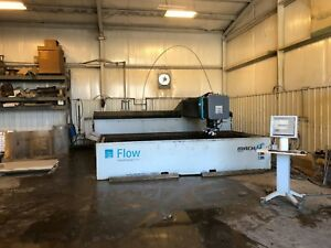 2012 Flow Mach 3 4020 Dynamic Xd Waterjet Cutting Cnc Ref 7795509