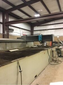 2013 Flow Mach3b 7320 Xd Head Waterjet Cutting Cnc Ref 7794119