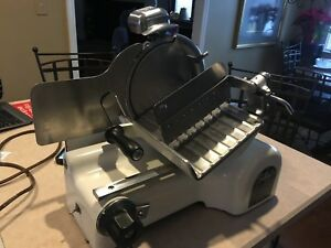 Vintage Berkel Us Slicing Machine Co Meat Slicer Model Hc