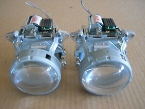 Bmw Mercedes Left Right Bi xenon Hid Projector Pair Oem Retrofit 2 3 4 Inch