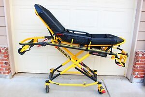 Stryker Mx pro 650lb 6082 Ambulance Stretcher W brakes Mattress Gurney Cot