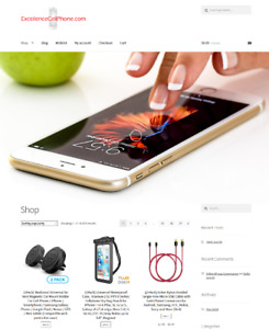 Excellencecellphone com Mobile Phone Website Business For Sale Domain Included