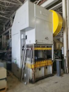 150 Ton Capacity Verson Gap frame Press For Sale