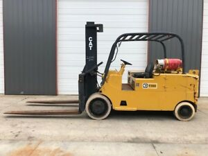 30 000 Lb Capacity Cat Forklift For Sale