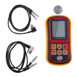 Digital Ultrasonic Thickness Gauge Meter Tester For Metal Ceramic Wall Glass