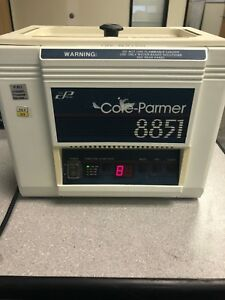 Cole Parmer 8851 36 Ultrasonic Cleaner