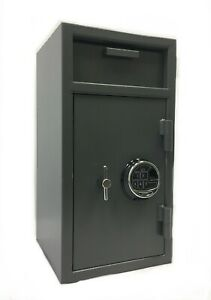 Cash Drop Slot Security Safe Box Depository Quick Access Digital Lock