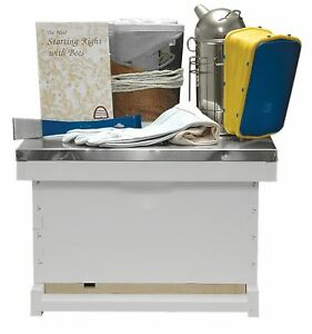Basic Beekeeping Starter Kit Completely Assembled Painted Made In The Usa