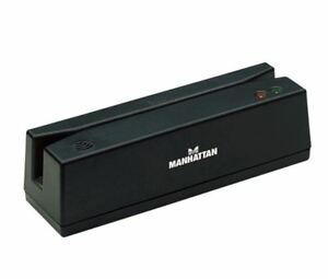 Manhattan Usb Magnetic Strip Card Reader Model 460255